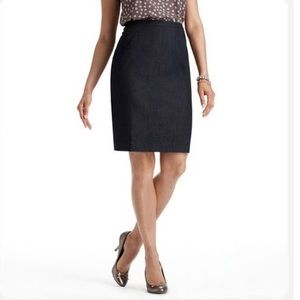 LOFT Navy Pencil Skirt